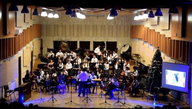 """Concert de Crăciun 11_12_2018 Colegiul de Artă """"Carmen Sylva"""""""