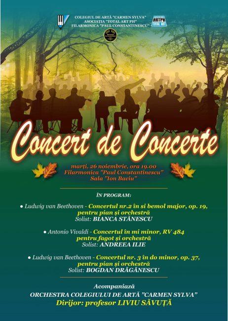 Concert 29 noiembrie 2019